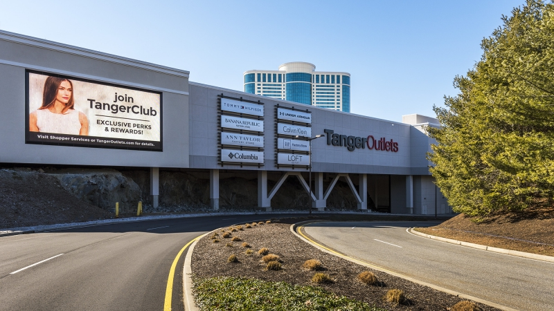 Tanger Outlets at Foxwoods, Connecticut